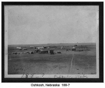 picture of Oshkosh circa 1880's