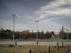 Oshkosh Tennis and Basketball Courts
