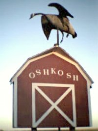 Oshkosh Goose Sign